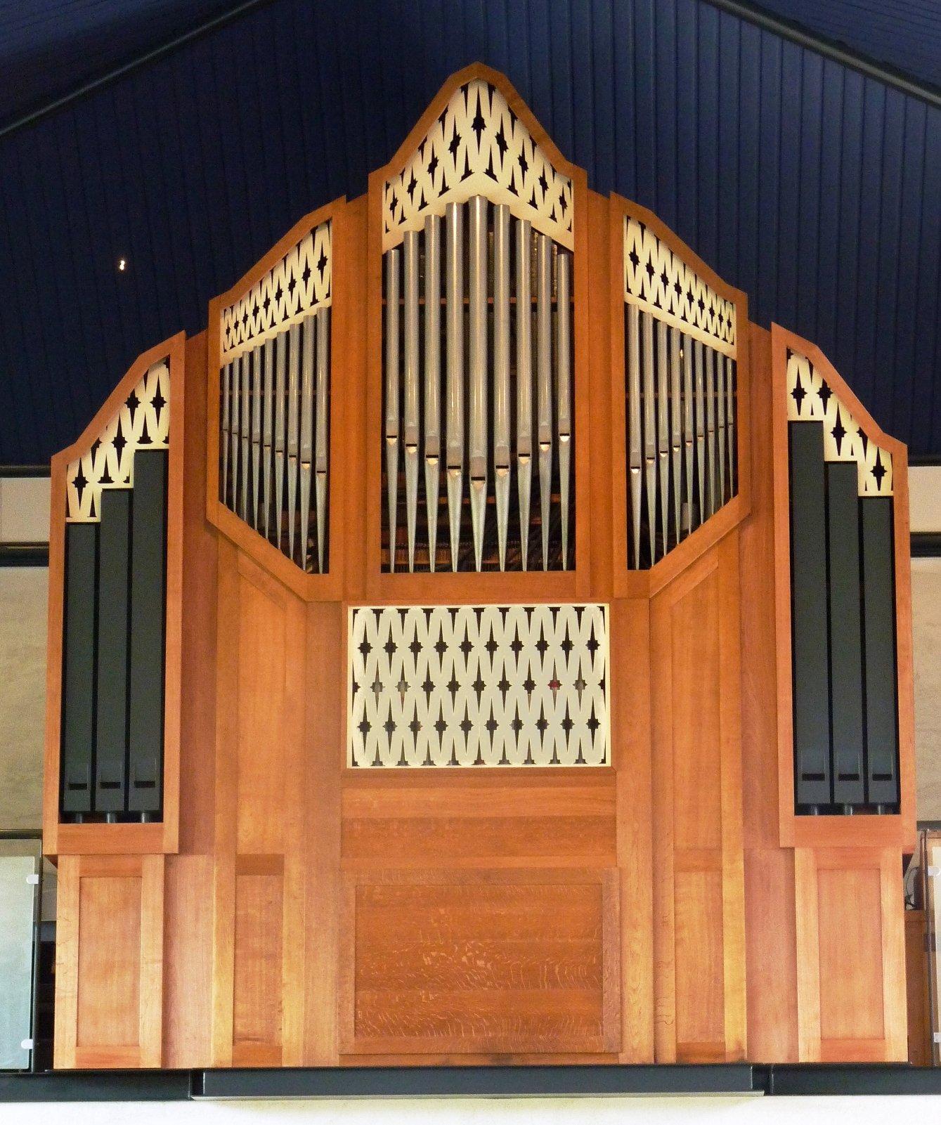 Orgelfront sinds 2012