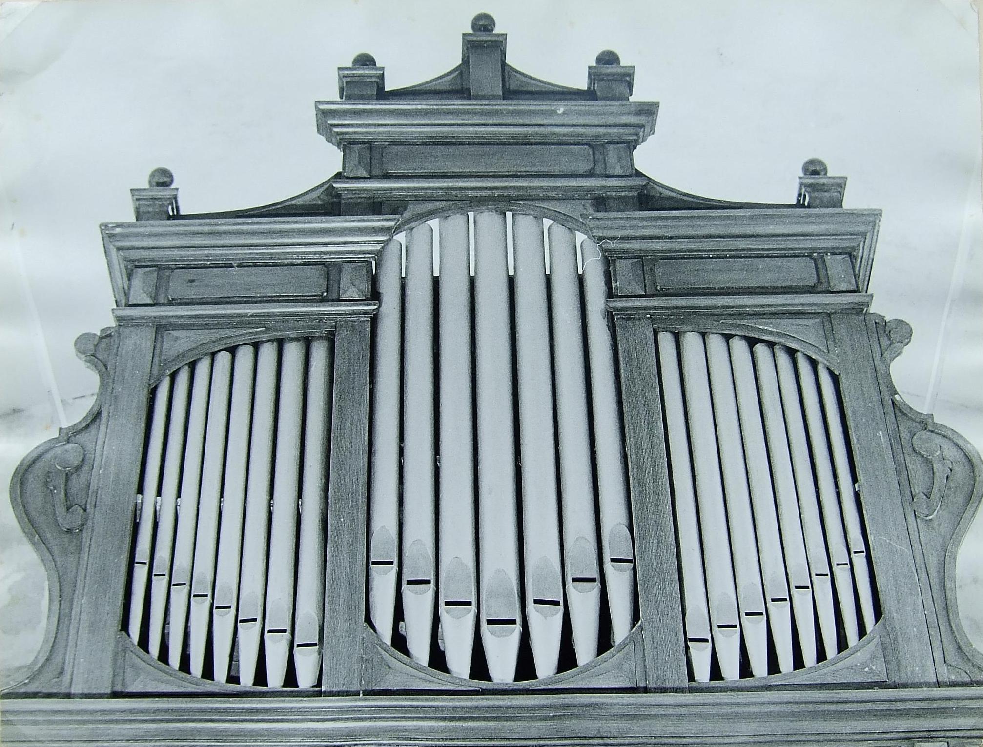 Orgelfront vanaf 1924