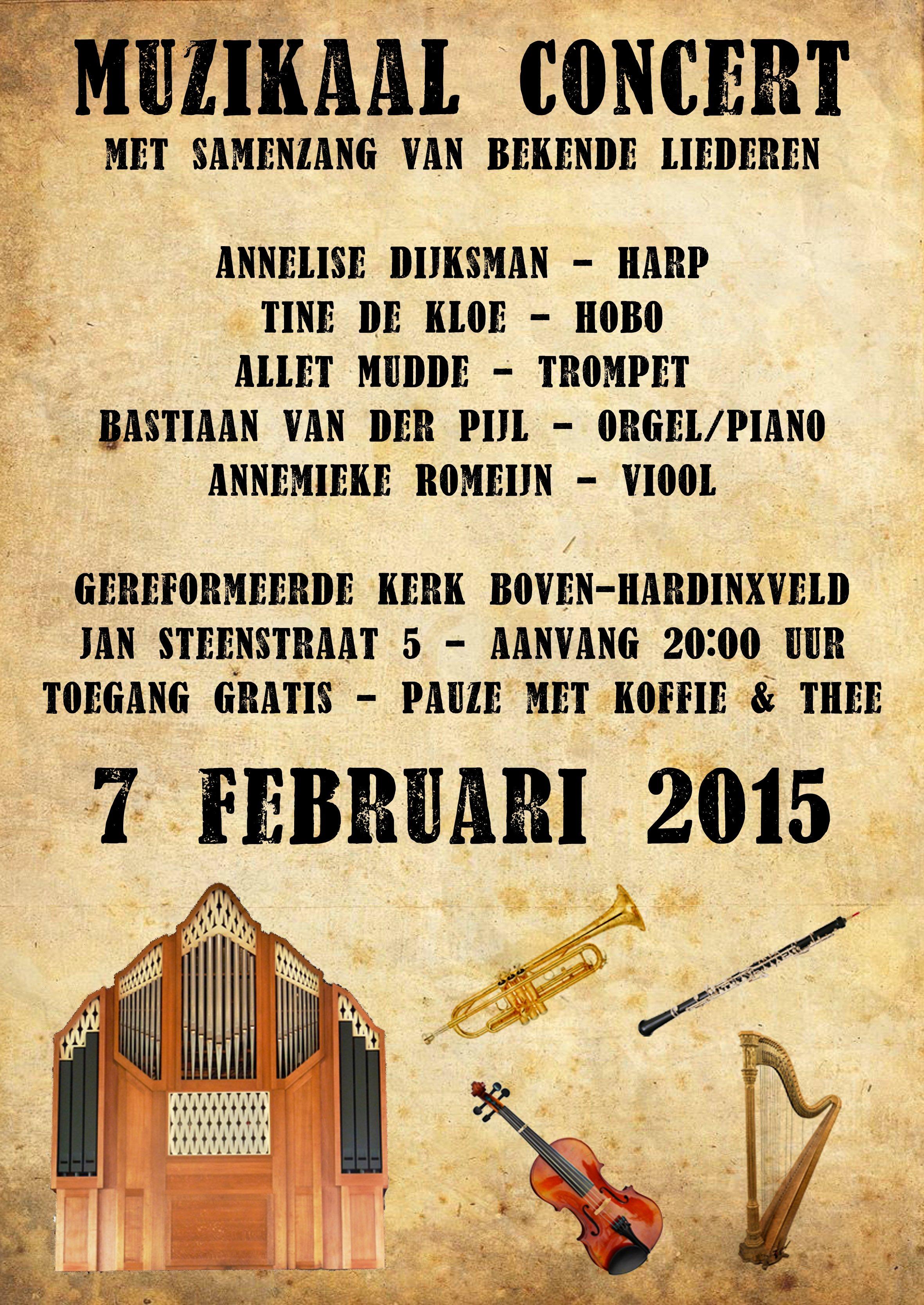 poster concert 7 februari def