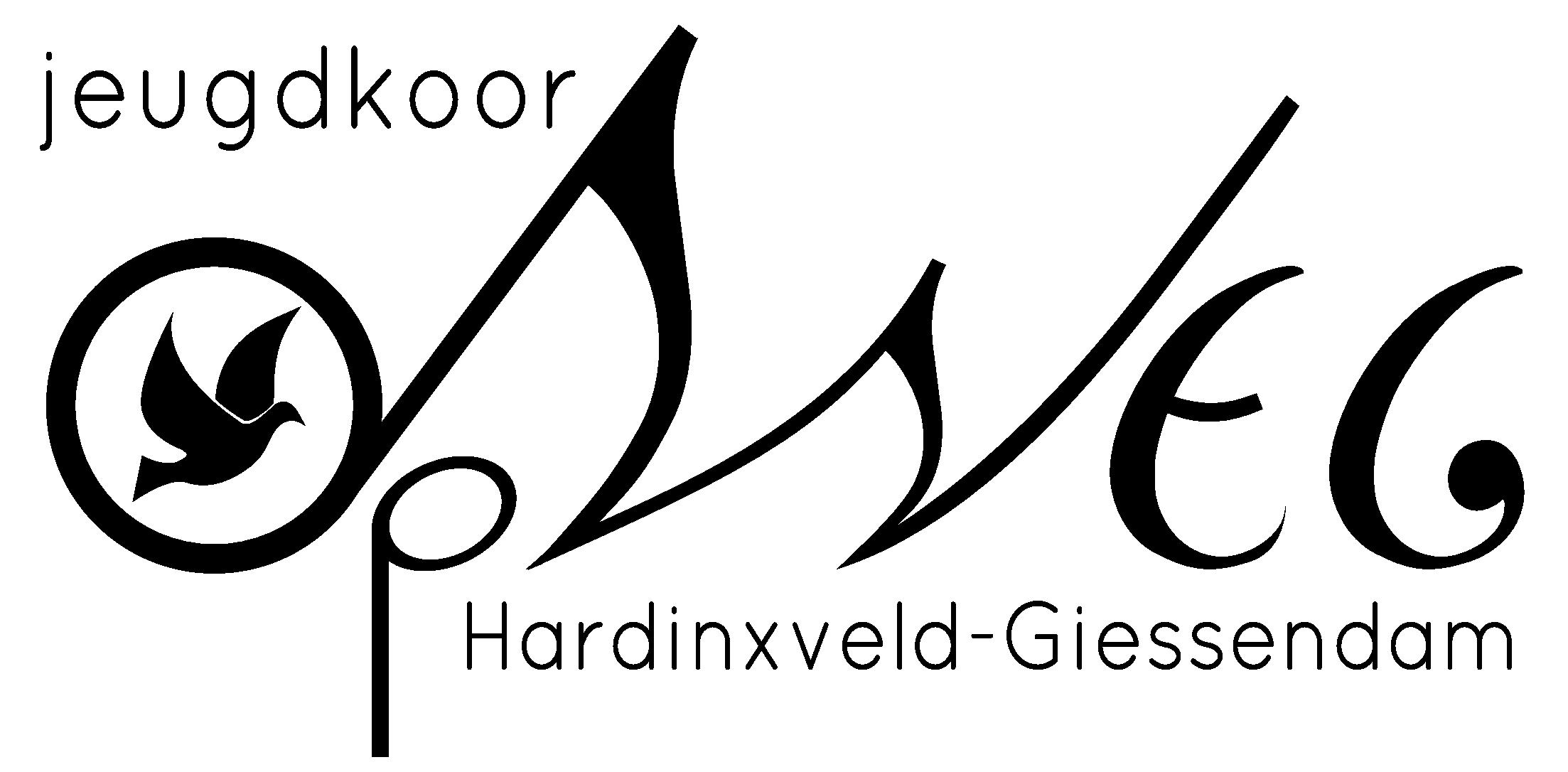 Jeugdkoor-Op-Weg-logo-zwart