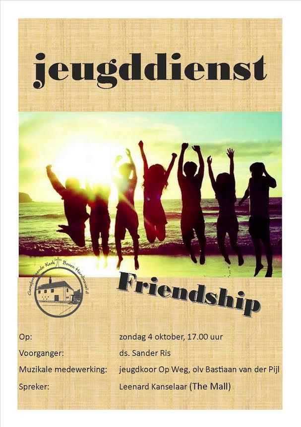 Jeugddienst: Friendship