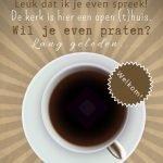 Zondag 17 februari koffiedrinken na de dienst