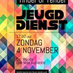 Zondag 4 november: Jeugddienst