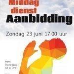 "Zondag 23 juni: Themadienst ""Aanbidding"" o.l.v. Praiseband All in One"