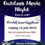 Save the date: Outdoor Movie Night 12 juli 2019