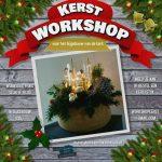 Workshops kerststuk maken