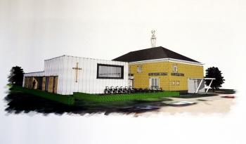 Bijgebouw kerk